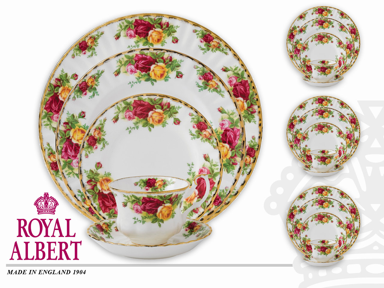 Old Country Roses